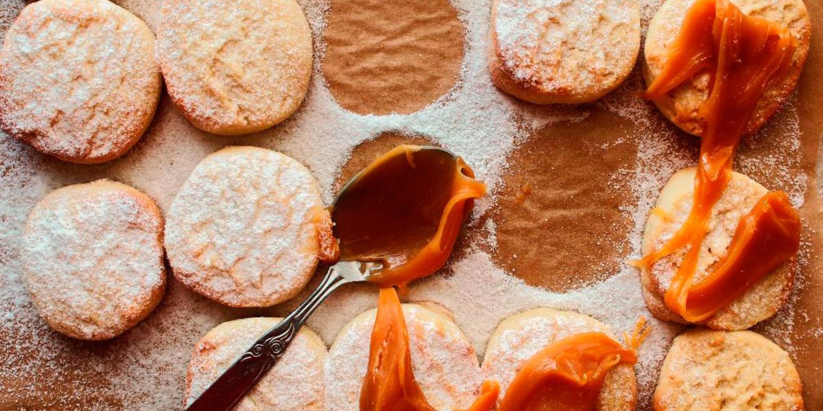 glasol galletas de dulce de leche